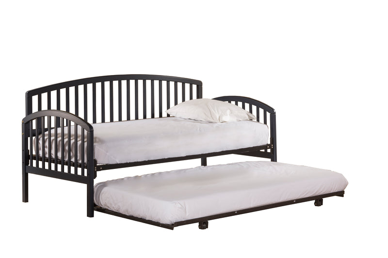 1924 Carolina Daybed - Suspension Deck and Trundle Included - Navy - Free Shipping!, Hillsdale Daybed, Hillsdale Furniture, - ReeceFurniture.com - Free Local Pick Ups: Frankenmuth, MI, Indianapolis, IN, Chicago Ridge, IL, and Detroit, MI