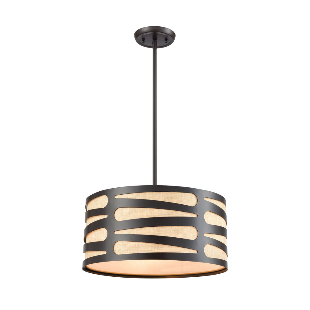 Alton - Chandelier - Oil Rubbed Bronze
