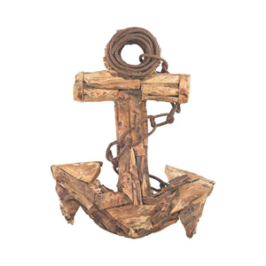 2181-027 Islamorada 23-Inch Driftwood Anchor, Accessory, Sterling, - ReeceFurniture.com - Free Local Pick Ups: Frankenmuth, MI, Indianapolis, IN, Chicago Ridge, IL, and Detroit, MI