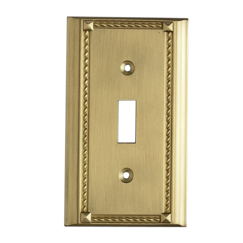 2501BR Clickplates Single Switch Plate In Brass, Clickplate, Elk Lighting, - ReeceFurniture.com - Free Local Pick Ups: Frankenmuth, MI, Indianapolis, IN, Chicago Ridge, IL, and Detroit, MI