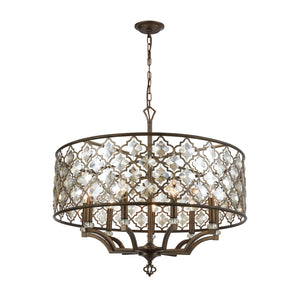 Armand - Chandelier - Weathered Bronze