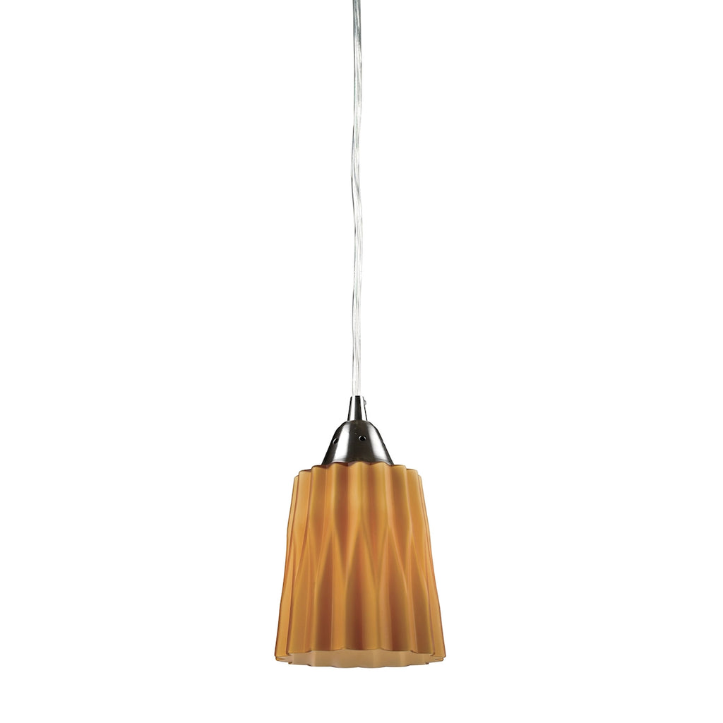 Angles - Mini Pendant - Satin Nickel