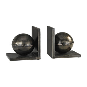3138-260/S2 Fugue Holmes Bronze 6-Inch Set of 2 Metal Bookends, Bookend, Elk Home, - ReeceFurniture.com - Free Local Pick Ups: Frankenmuth, MI, Indianapolis, IN, Chicago Ridge, IL, and Detroit, MI