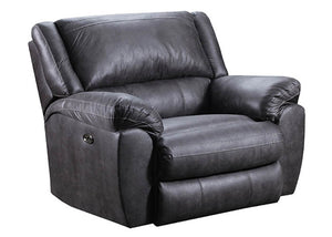 50433C-BR Shiloh Granite Pad-Over-Chaise Cuddler Recliner, Recliner, Simmons, - ReeceFurniture.com - Free Local Pick Ups: Frankenmuth, MI, Indianapolis, IN, Chicago Ridge, IL, and Detroit, MI