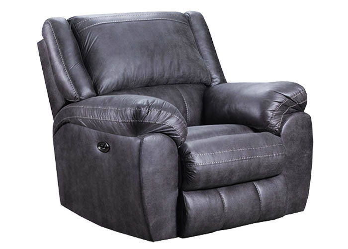 50433R-BR Shiloh Granite Pad-Over-Chaise Rocker/Recliner, Recliner, Simmons, - ReeceFurniture.com - Free Local Pick Ups: Frankenmuth, MI, Indianapolis, IN, Chicago Ridge, IL, and Detroit, MI