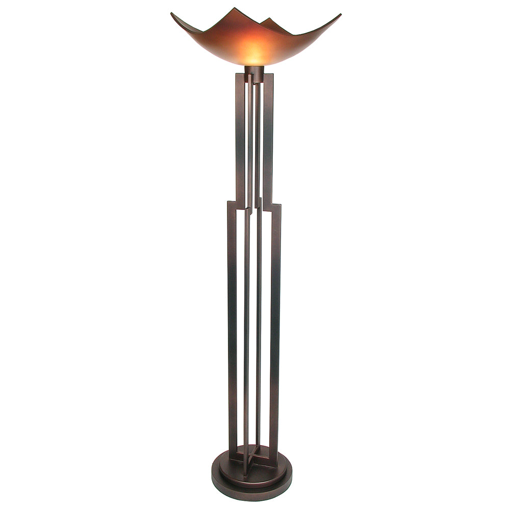 "Van Teal 532181 On Command 74"" Torchiere Floor Lamp"