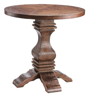 57249 - Chisholm Heavily Distressed Finish Accent Table, Accent Tables, Stein World, - ReeceFurniture.com - Free Local Pick Ups: Frankenmuth, MI, Indianapolis, IN, Chicago Ridge, IL, and Detroit, MI