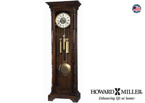 611-206 Kipling, Clocks, Howard Miller, - ReeceFurniture.com - Free Local Pick Ups: Frankenmuth, MI, Indianapolis, IN, Chicago Ridge, IL, and Detroit, MI