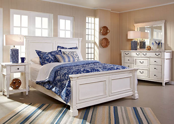 683 Stoney Creek White Bedroom - ReeceFurniture.com