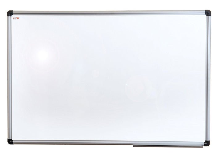 "Viztex Porcelain Magnetic Dry Erase Board with an Aluminium frame  (36""x24"")"