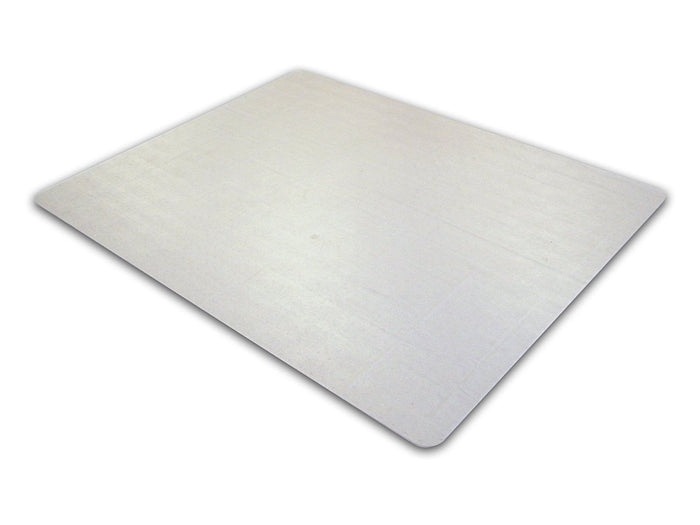 "EcoTex 100% Post Consumer Recycled Rectangular Chair mat For Hard Floors (30"" x 48"")"