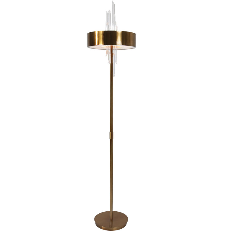 Van Teal 723881 Gold Rush Torchiere Floor Lamp