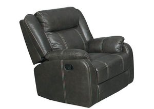 7303  Gin Rummy Charcoal Recliner, Recliners & Gliders, American Imports, - ReeceFurniture.com - Free Local Pick Ups: Frankenmuth, MI, Indianapolis, IN, Chicago Ridge, IL, and Detroit, MI