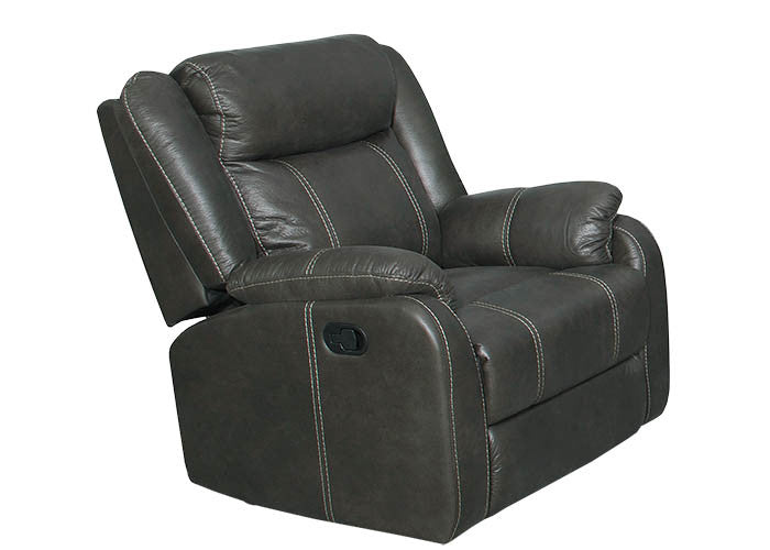 L7303 Gin Rummy Charcoal Recliner