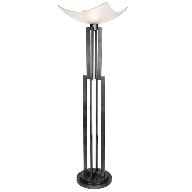 "Van Teal 773181 On Command Four 74"" Torchiere Floor Lamp"