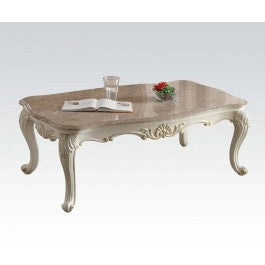 83540 Chantelle Coffee Table w/Marble Top