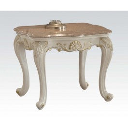 83542 Chantelle End Table w/Marble Top