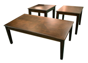 8920C Coffee Cocktail Table & Two End Tables, Occasional Tables, American Imports, - ReeceFurniture.com - Free Local Pick Ups: Frankenmuth, MI, Indianapolis, IN, Chicago Ridge, IL, and Detroit, MI