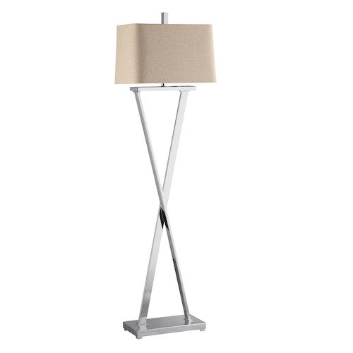 90006 - Maxwell Metal Floor  Lamp