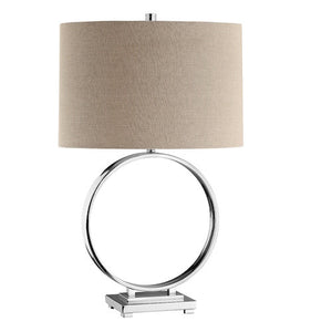 90007 - O Steel Table  Lamp - ReeceFurniture.com