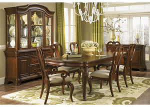 9180 Evolution - 5 Piece Set Leg Table & 4 Queen Anne Side Chairs, Formal Dining Room, Legacy Classic Furniture, - ReeceFurniture.com - Free Local Pick Ups: Frankenmuth, MI, Indianapolis, IN, Chicago Ridge, IL, and Detroit, MI