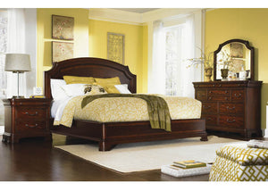 9180 Evolution - Queen Platform Bed/Bureau/Bureau Mirror & Night Stand, Bedroom Sets, Legacy Classic Furniture, - ReeceFurniture.com - Free Local Pick Up: Frankenmuth, MI