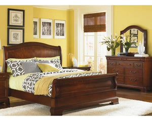 9180 Evolution - Queen Sleigh Bed/Dresser/Dresser Mirror & Chest, More Bedroom, Legacy Classic Furniture, - ReeceFurniture.com - Free Local Pick Ups: Frankenmuth, MI, Indianapolis, IN, Chicago Ridge, IL, and Detroit, MI