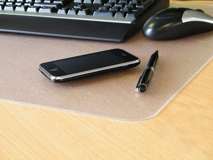 "Desktex Polycarbonate Anti-Slip Desk Mat Rectangular Shaped (20"" X 36"")"