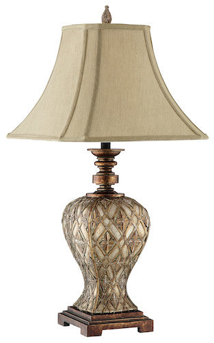 98871 - Jaela Resin Table Lamp - ReeceFurniture.com