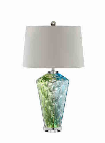 99675 - Sheffield Art Glass Table Lamp
