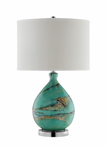 99765 - Morenci Glass Table Lamp, Floor, Desk And Table Lamps, Stein World, - ReeceFurniture.com - Free Local Pick Ups: Frankenmuth, MI, Indianapolis, IN, Chicago Ridge, IL, and Detroit, MI