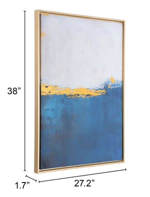 Azure Wall Decor