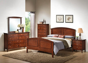 C31636A Whiskey Queen Bed, Dresser, Mirror, Bedrooms, American Imports, - ReeceFurniture.com - Free Local Pick Ups: Frankenmuth, MI, Indianapolis, IN, Chicago Ridge, IL, and Detroit, MI