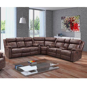 L7303-3PC Buckskin 3 Piece Sectional, Motion Sectionals, AMERICAN IMPORTS, - ReeceFurniture.com - Free Local Pick Ups: Frankenmuth, MI, Indianapolis, IN, Chicago Ridge, IL, and Detroit, MI