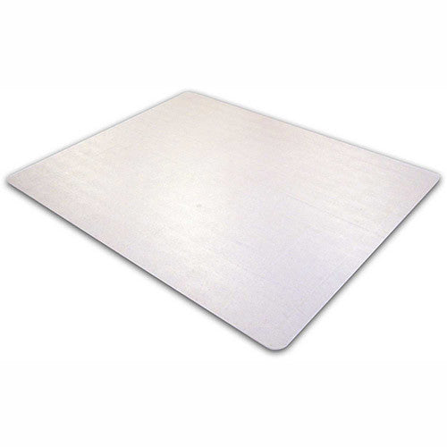 "Phthalate Free PVC Rectangular Chair mat for low pile carpets 1/4"" or less (36"" x 48""), Floor Mats, FloorTexLLC, - ReeceFurniture.com - Free Local Pick Ups: Frankenmuth, MI, Indianapolis, IN, Chicago Ridge, IL, and Detroit, MI"