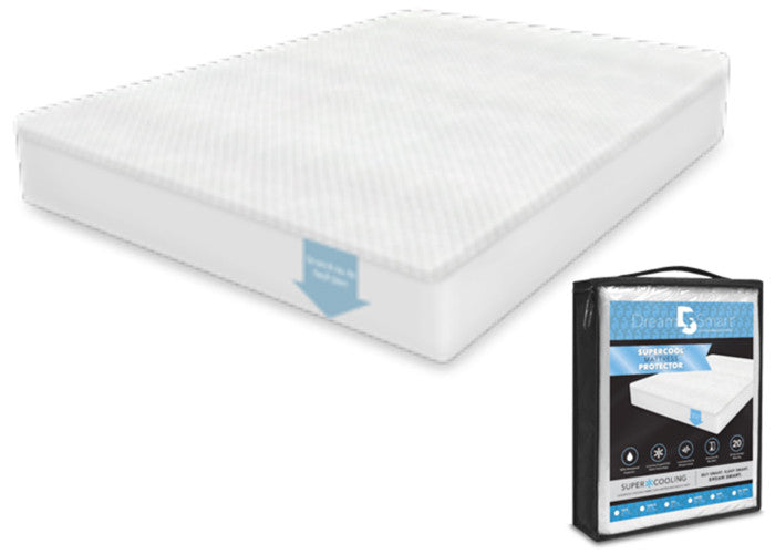 SuperCool Mattress Protector - Queen Size
