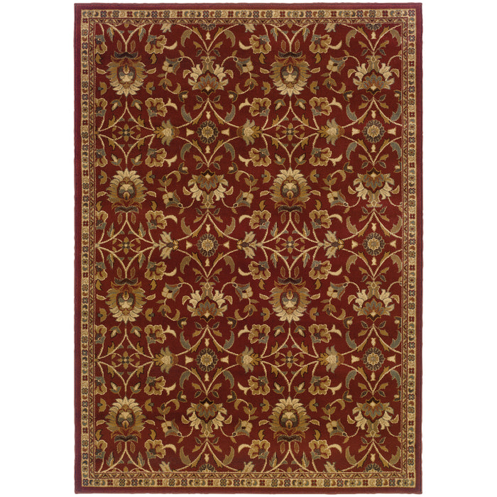 2331R Amelia Indoor Area Rug Red/Ivory