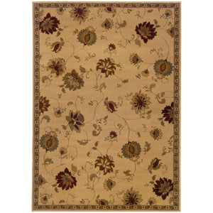 008W6 Amelia Indoor Area Rug Ivory/Green