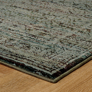 7127A Andorra Indoor Area Rug Blue/ Purple