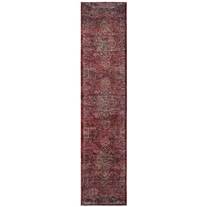 7135E Andorra Indoor Area Rug Red/ Gold