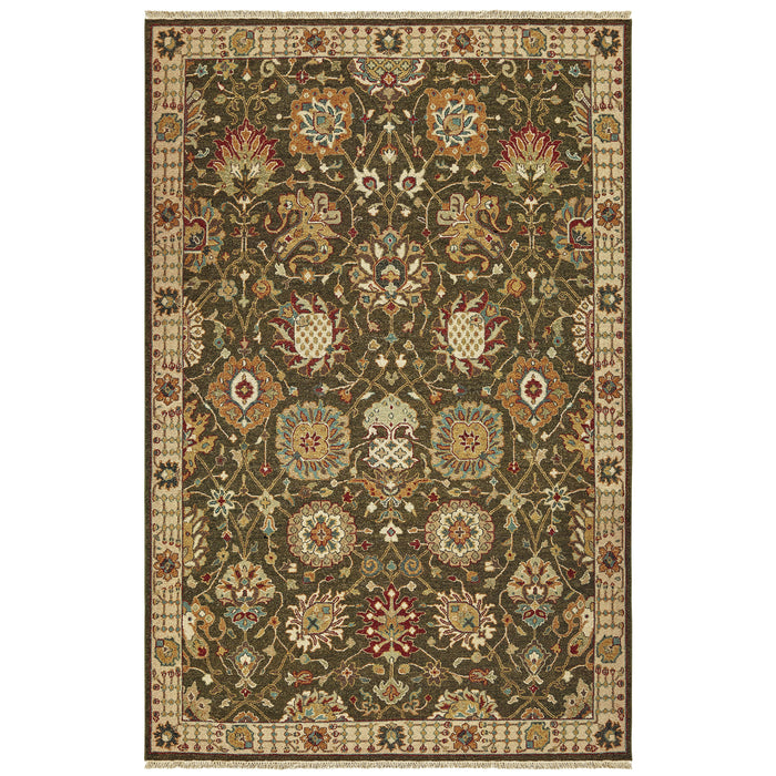 12304 Tommy Bahama Angora Indoor Area Rug Brown/ Ivory