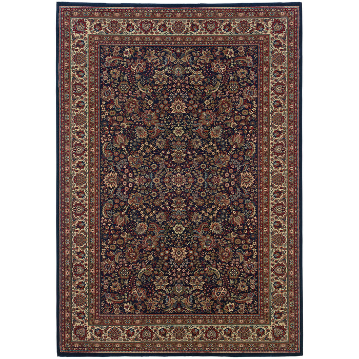 113B2 Ariana Indoor Area Rug Blue/Red