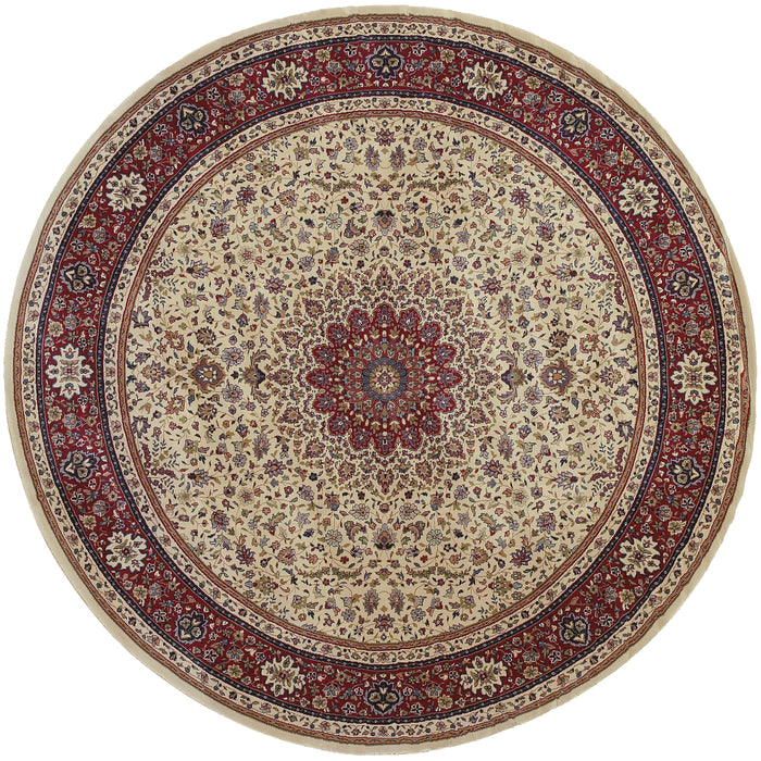 095J3 Ariana Indoor Area Rug Ivory/Red