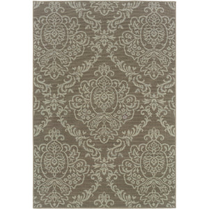 8424P Bali Indoor/Outdoor Rug Grey/Blue - ReeceFurniture.com