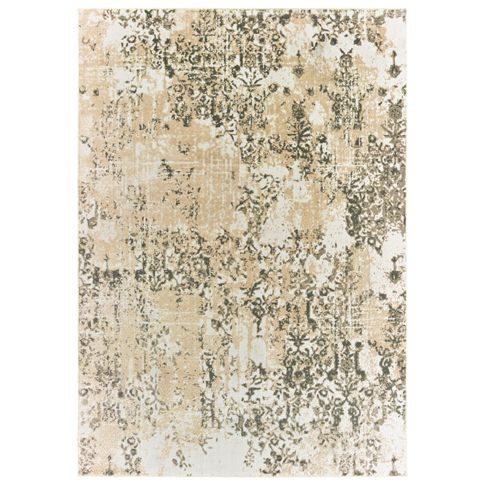 2067W Rowan Indoor Area Rug Ivory/ Grey