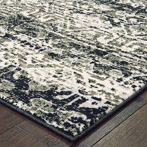 042H2 Bowen Indoor Area Rug Grey/ Ivory - ReeceFurniture.com