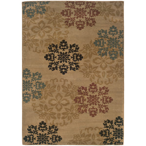 2320A Camden Indoor Area Rug Gold/Red