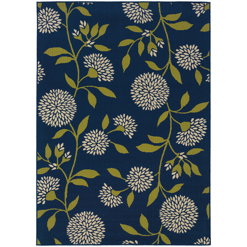 8327L Caspian Indoor/Outdoor Rug Blue/Green