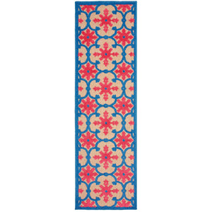 190L9 Cayman Indoor/Outdoor Rug Sand/ Pink