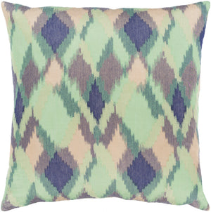 Camila Pillow Cover - Dark Green, Grass Green, Sage, Navy, Camel, Taupe - CMI002